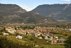 Town of Trentino Stock Photography