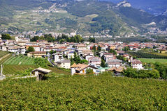 Town of Trentino Royalty Free Stock Photo