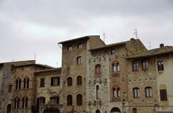 Town in Tuscany Stock Photos