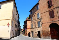 Town in Tuscany Royalty Free Stock Photography