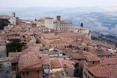 town umbria Arkivbild