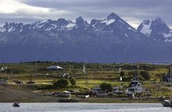 Town of ushuaia Royalty Free Stock Images