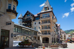 The Town of Vail is a Home Rule Municipality in Eagle County, Co Royalty Free Stock Image