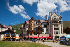 The Town of Vail is a Home Rule Municipality in Eagle County, Co Stock Images