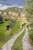 Town of valldemossa in mallorca Royalty Free Stock Photography