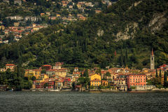 The town of Varenna. On the east coast of Lake Como, Italy Stock Photo
