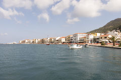 Town of Vathi Stock Photography