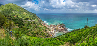 Town of Vernazza, Cinque Terre, Italy Royalty Free Stock Photo