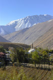 Town of Vicuña in the Elqui Valley, Chile Royalty Free Stock Photo