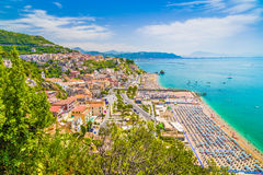 Town of Vietri sul Mare, province of Salerno, Campania, Italy Royalty Free Stock Image