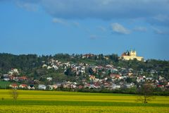 Town view, Czech Republic. Nice town view from Czech Republic Royalty Free Stock Photography
