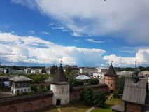 Town view. Yuriev Polsky town royalty free stock photos
