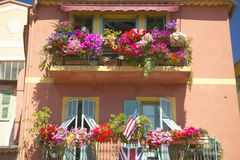The town of Villefranche sur Mer, French Riviera, France Stock Photos