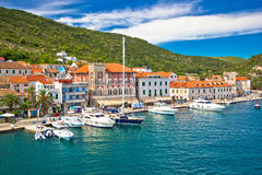 Town of Vis old mediterranean architecture Royalty Free Stock Photo