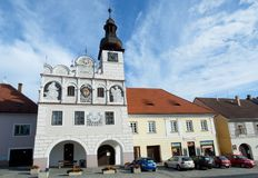 Town Volyne, Southern Bohemia, Czech Republic Royalty Free Stock Images