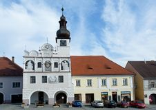 Town Volyne, Southern Bohemia, Czech Republic Royalty Free Stock Photography