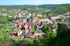 Town Vranov nad Dyji in Czech republic Stock Images