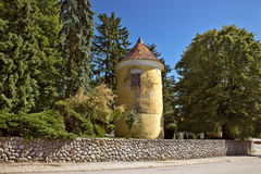 Town of Vrbovec historic park tower Royalty Free Stock Images