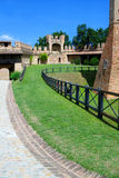 Town Walls of Gradara Royalty Free Stock Image