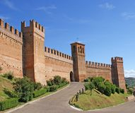 Town Walls Of Gradara Stock Images