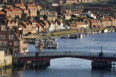 Town of Whitby - Yorkshire Coast - England Stock Images