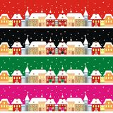 Town in winter Stock Image