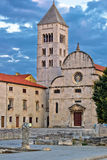 Town of Zadar historic church Stock Photo