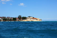 Town of Zanzibar: ocean view Royalty Free Stock Images