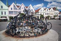 Town Zilina, Slovakia Royalty Free Stock Images
