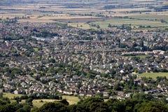 townby royaltyfri foto