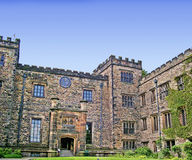 Towneley Hall in Burnley Lancashire Royalty Free Stock Images