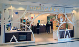 Towngas shop in Hong Kong Royalty Free Stock Photos