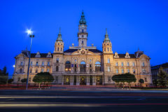 Townhall города Gyor Стоковые Фото
