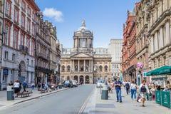 Townhall Ливерпуль Streetview стоковая фотография rf