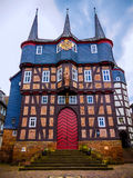 Townhall with 10 Towers in Frankenberg Eder, Germany Stock Images