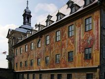 Townhall bamberg. Old baroque townhall bamberg royalty free stock photography