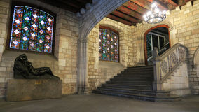 Townhall Barcelona lizenzfreie stockfotos