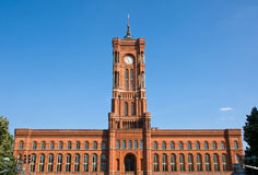 The Townhall in Berlin Stock Photography
