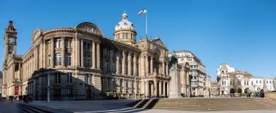 Townhall Birmingham het UK stock afbeelding
