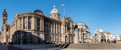 Townhall Birmingham Reino Unido imagem de stock