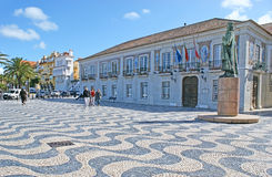 The Townhall of Cascais Royalty Free Stock Photo