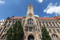 Townhall Charlottenburg Berlin Germany zdjęcie stock