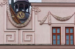 Townhall and church in güstrow Royalty Free Stock Photography