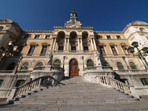 Townhall da cidade de Bilbao fotos de stock royalty free