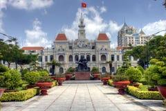 Townhall de Ho Chi Minh City Fotografia de Stock