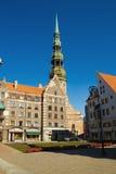 townhall de Riga Photo libre de droits