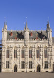 Townhall di Bruges Immagini Stock