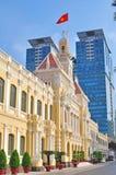 Townhall di Ho Chi Ming, Vietnam Fotografie Stock Libere da Diritti