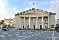 Townhall di Vilnius Fotografia Stock
