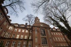 townhall herne Германия стоковая фотография